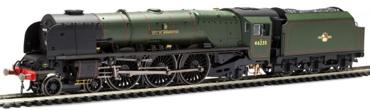 BR Princess Coronation 4-6-2 #46235 City of Birmingham (Lined Green - Late Crest) TTS Sound - In Stock